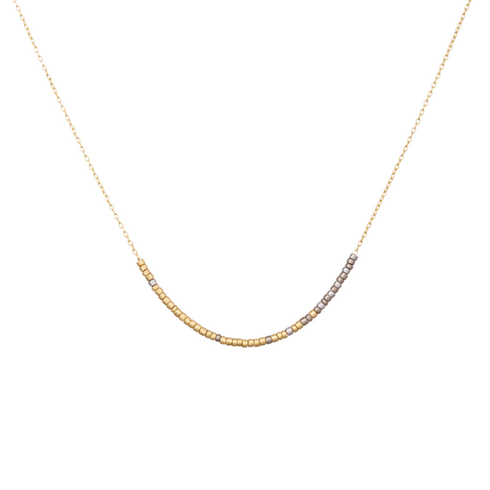 Sia Taylor KN12 Y Tiny Bead Colour Graded Necklace WB