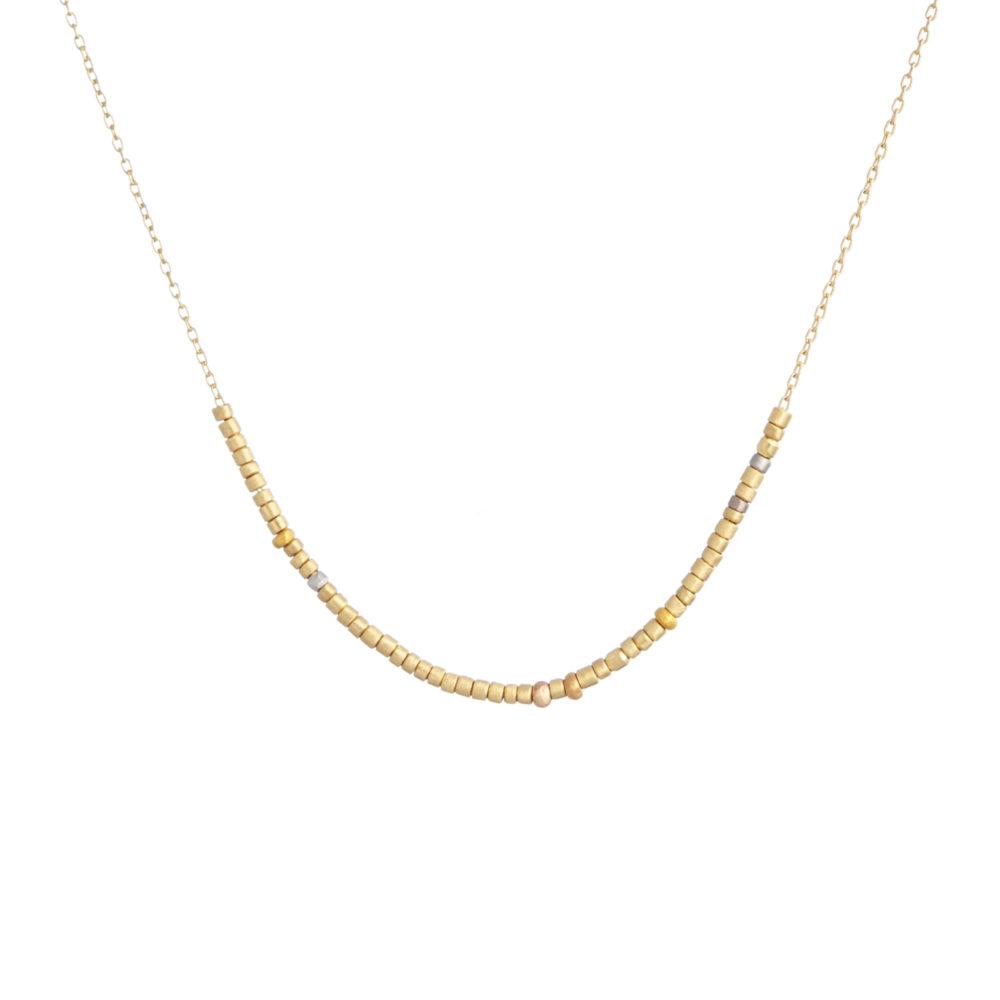 Sia Taylor KN16 YRAIN Random Tiny Bead Necklace WB