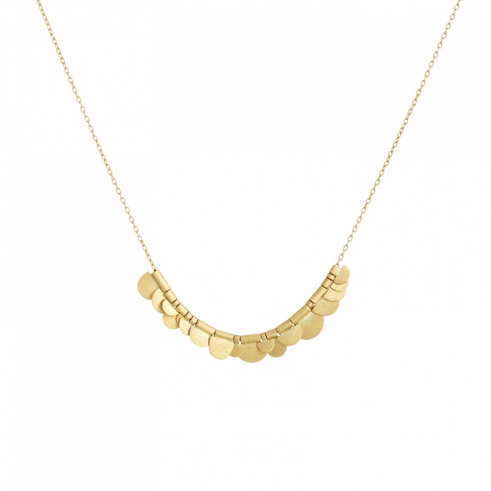 Sia Taylor KN2 Y Yellow Gold Flora Necklace WB