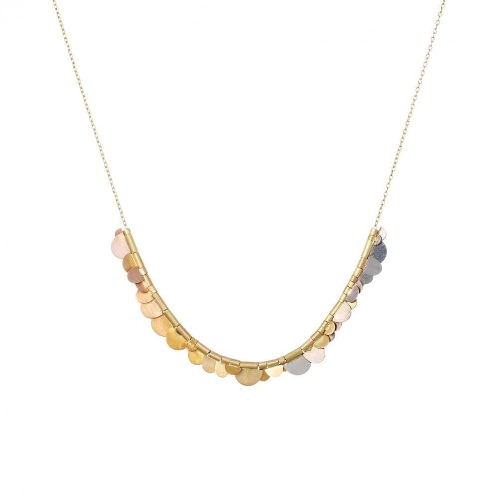 Sia Taylor KN3 Y Rainbow Golds Flora Necklace WB