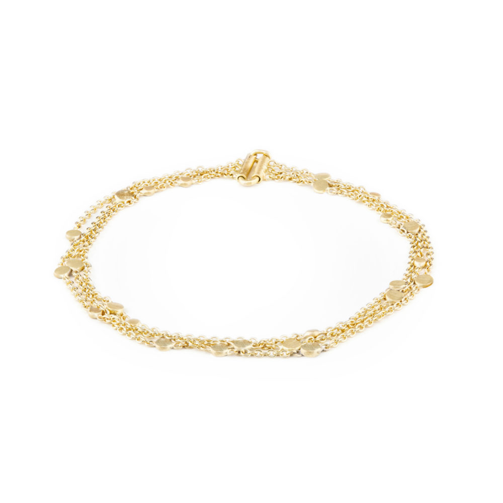 Sia Taylor SB2 Y Yellow Gold Falling Dust Bracelet WB