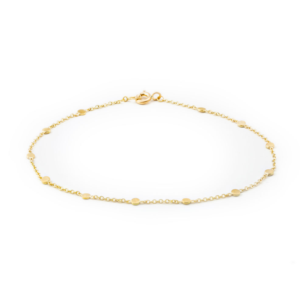 Sia Taylor SB3 Y Yellow Gold Dust Bracelet WB