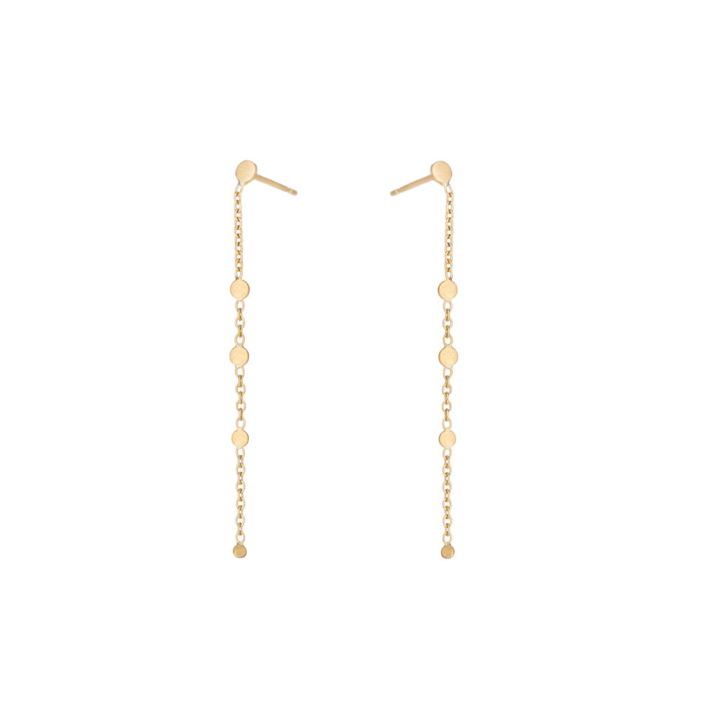 Sia Taylor SE5 Y Yellow Gold Little Dust Earring WB