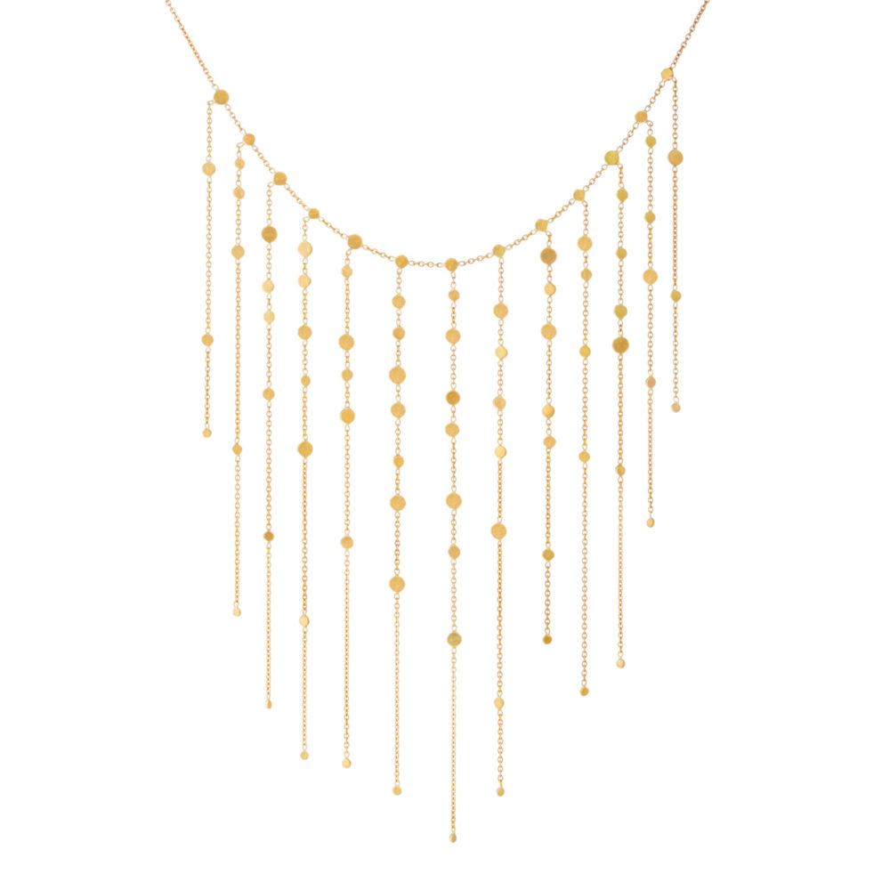 Sia Taylor SN1 Y Yellow Gold Dust Drift Dust Necklace WB