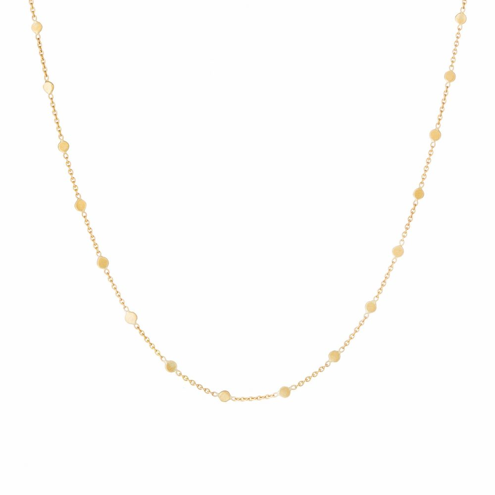 Sia Taylor SN3 Y Yellow Gold Dust Necklace WB