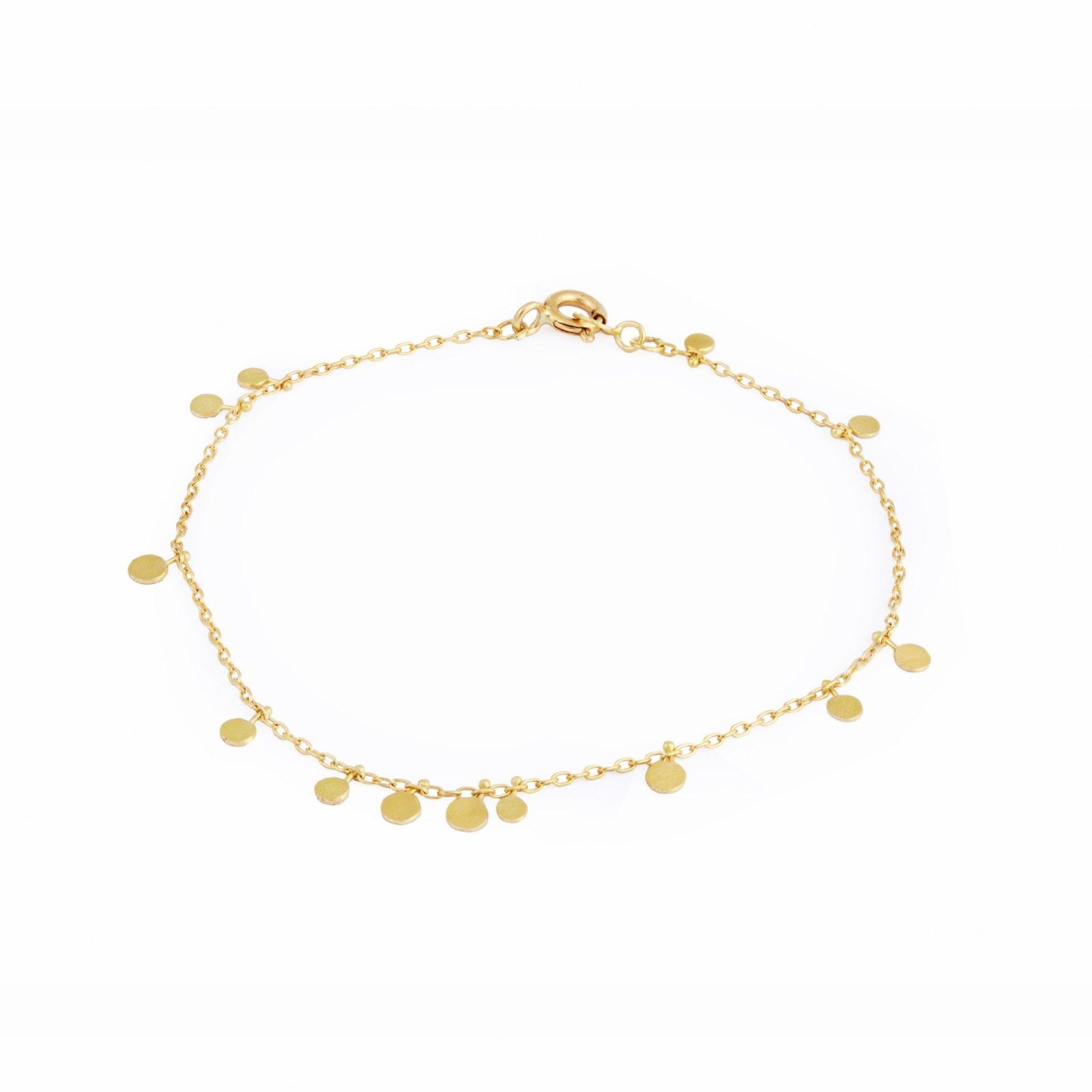 Sia Taylor DB3 Y Little Random Yellow Gold Dots Bracelets WB