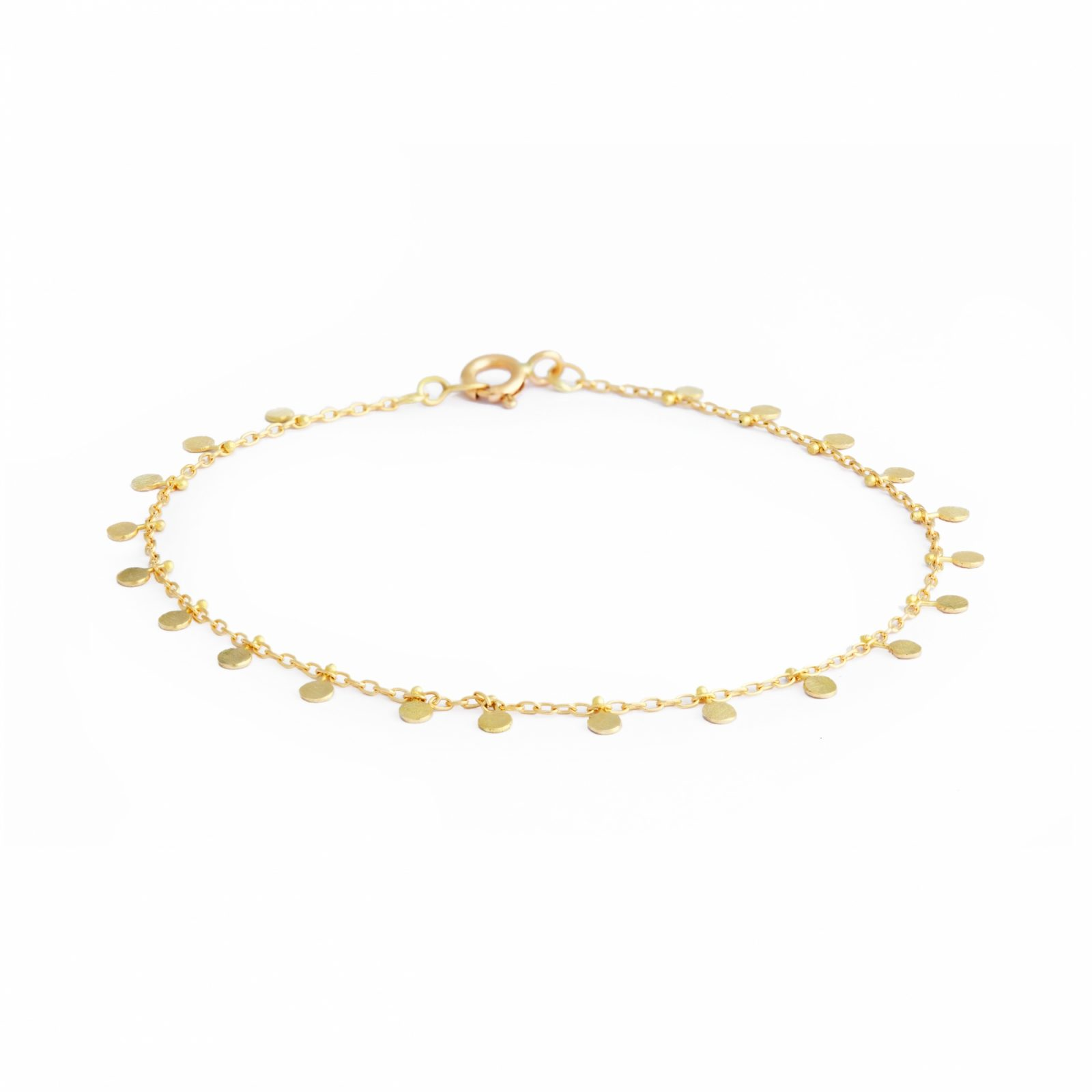 Sia Taylor DB7 Y Yellow Gold Even Tiny Dots Bracelet WB