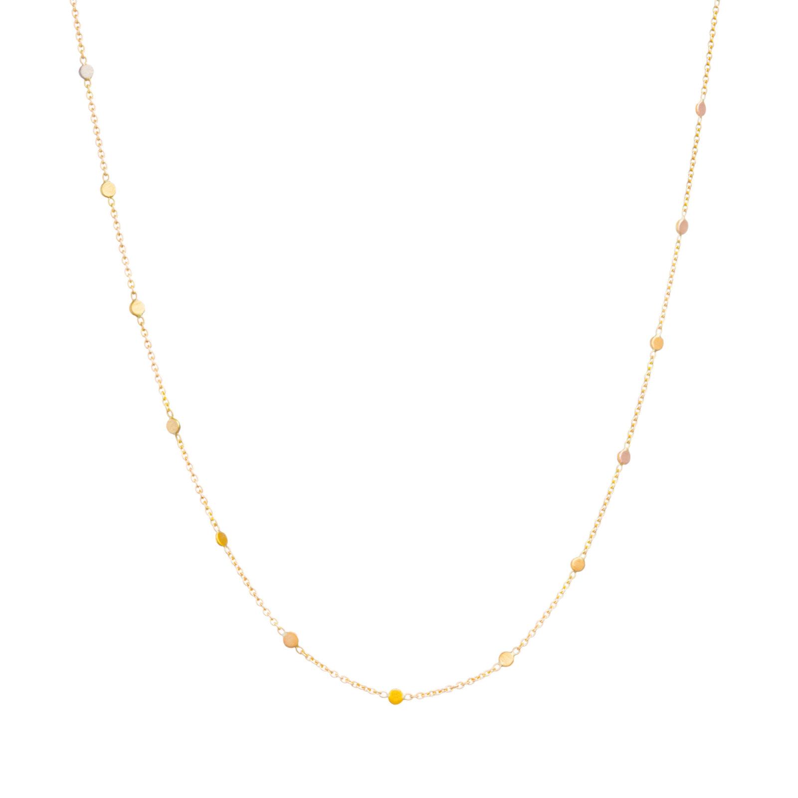 Sia Taylor SN4 RAIN Rainbow Gold Dust Necklace WB