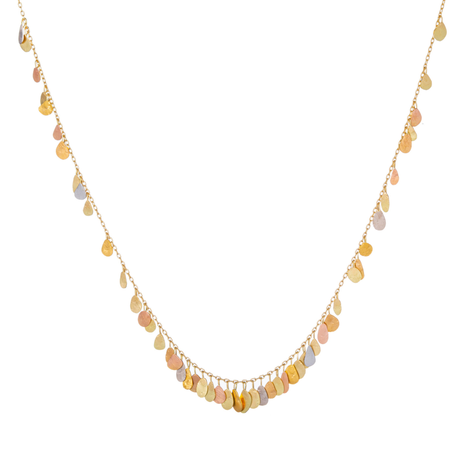 Sia Taylor TN1 YMIX Raindrop Gold Necklace WB