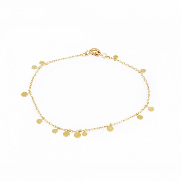 Sia Taylor DB3 Y Little Random Yellow Gold Dots Bracelets WB