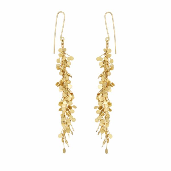 Sia Taylor DE357 Y Yellow Gold Big Dots Earrings WB