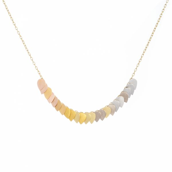 Sia Taylor KN1 YRAIN Golden Rainbow Necklace WB