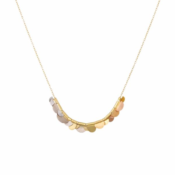 Sia Taylor KN2 YRAIN Rainbow Golds Flora Necklace WB