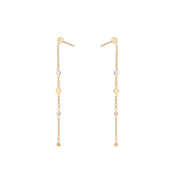 Sia Taylor SE5 YWP Gold Platinum Little Dust Earring WB