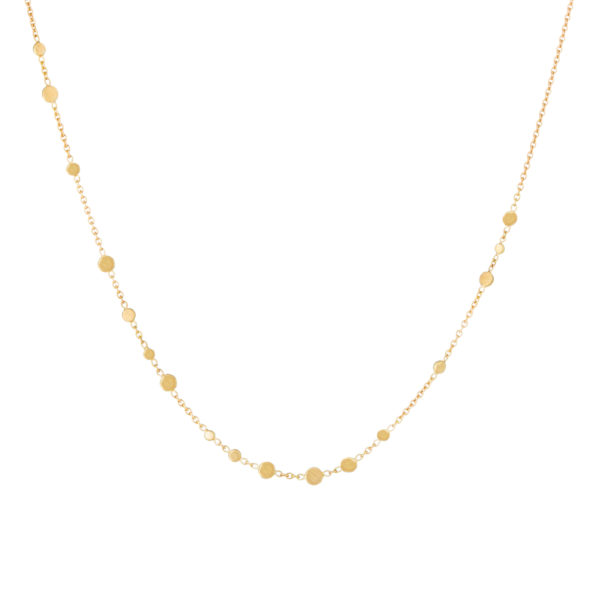 Sia Taylor SN2 Y Yellow Gold Scattered Dust Necklace WB