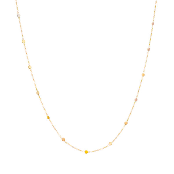 Sia Taylor SN4 RAIN Rainbow Gold Dust Necklace WB